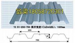 供應甘藍開口樓承板鋼承板鍍鋅板