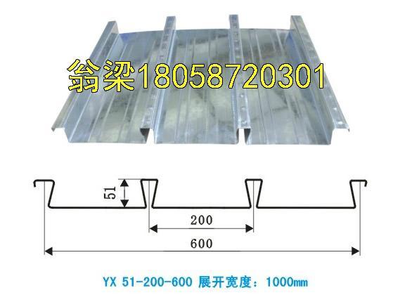 供應甘藍縮口鍍鋅樓承板鋼承板 1