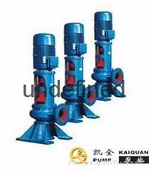 水泵厂家|凯全泵业-KQWL管道式无堵塞排污泵
