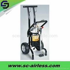 Hot sale 1kw ST3190 electric diaphragm pump airless paint sprayer