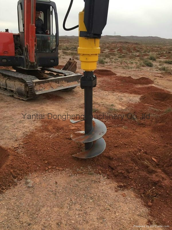 Wholesale Hydraulic Excavator Earth Auger Ground Drill 4