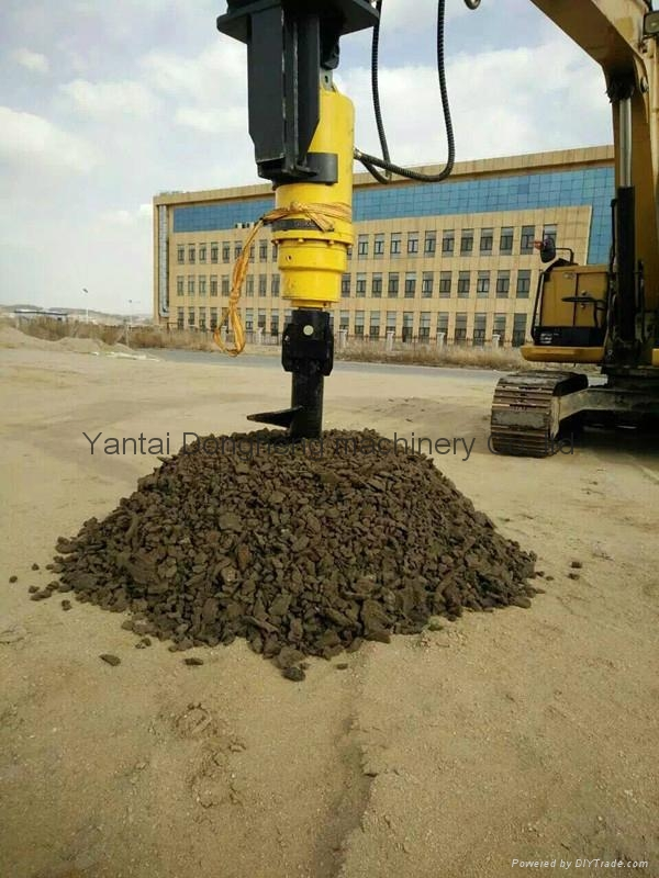 Hot Sale Hydraulic Excavator Earth Auger  1