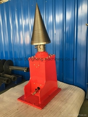 excavator attachment wood log cone splitter