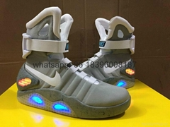 Wholesale originalnike Roshe Run Air Mag Back LED free shipping  fashion shoes