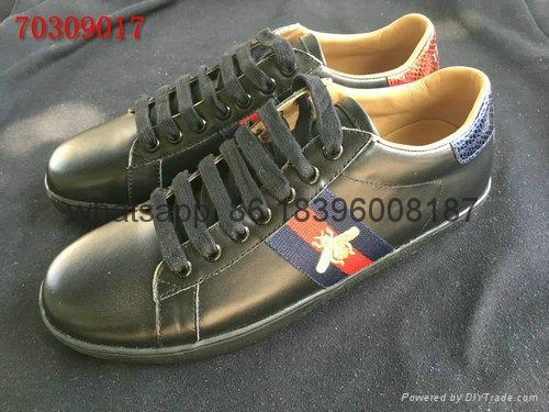 Wholesale 1:1 AAA Gucci men's leather shoes high quality replicas free shipping 3