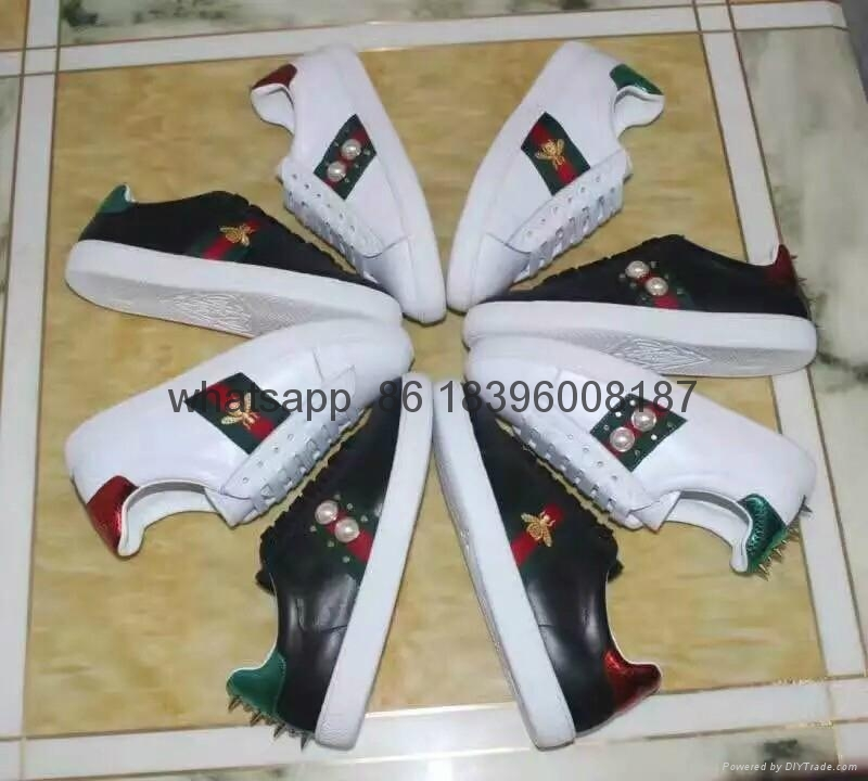 Wholesale 1:1 AAA Gucci men's leather shoes high quality replicas free shipping 10