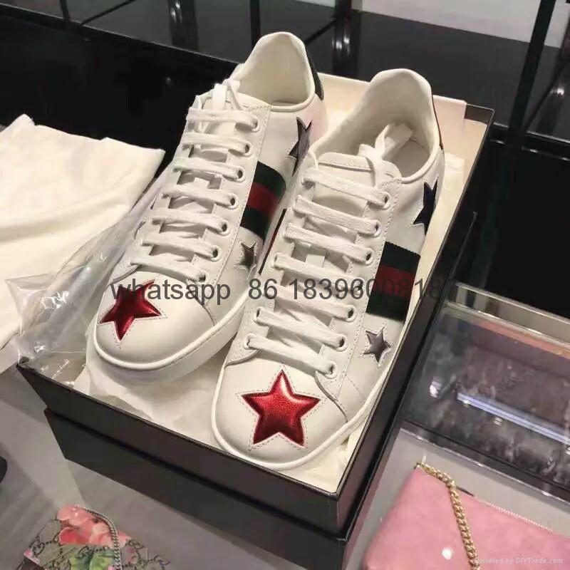 Wholesale 1:1 AAA Gucci men's leather shoes high quality replicas free shipping 15