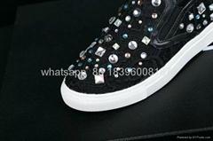 Givenchy Rottweiler Leather Skate Slip