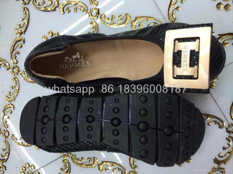wholesale Hermes women's slippers new arrival Hermes leather shoes top sneakers  10