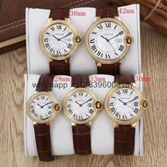 hot sell AAA cartier watch quality  package fashion watches clock