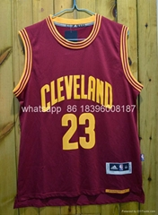 Wholesale Adidas NBA Cleveland Cavaliers 23 King LeBron James basketball jersey