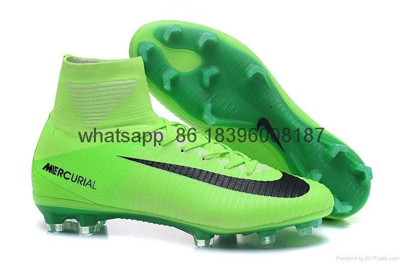Free shipping 1:1 Nike Football  World Cup puma adidas sports High Boots shoes  6