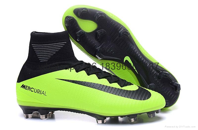 Free shipping 1:1 Nike Football  World Cup puma adidas sports High Boots shoes  7
