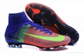 Free shipping 1:1 Nike Football  World Cup puma adidas sports High Boots shoes  8