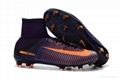 Free shipping 1:1 Nike Football  World Cup sports High Boots shoes  9