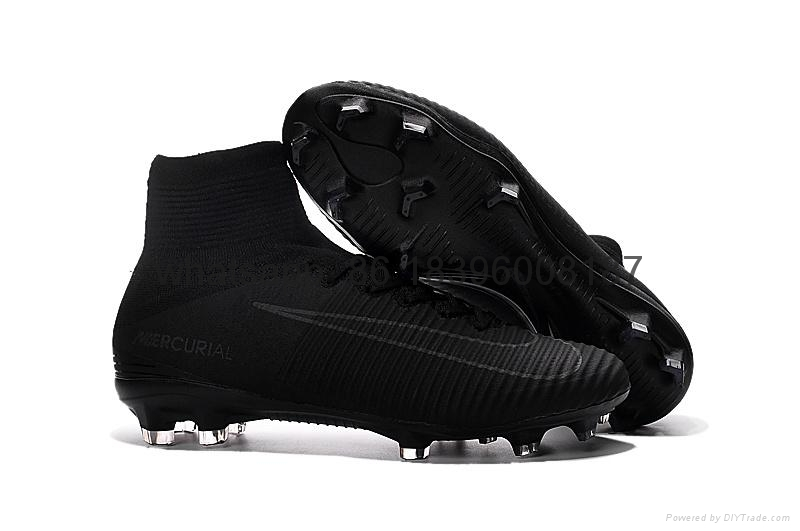 Free shipping 1:1 Nike Football  World Cup sports High Boots shoes  13