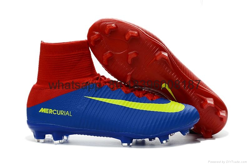 Free shipping 1:1 Nike Football  World Cup puma adidas sports High Boots shoes  16