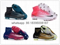 Free shipping 1:1 Nike Football  World Cup sports High Boots shoes  17