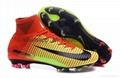 Free shipping 1:1 Nike Football  World Cup sports High Boots shoes  18