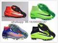 Free shipping 1:1 Nike Football  World Cup puma adidas sports High Boots shoes  1