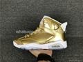 wholesale Authentic Air Jordan 6 Pinnacle Metallic Gold fashion shoes 1:1 AJ6