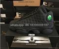 NIke Air Jordan 13 Black Cat 3M shoes