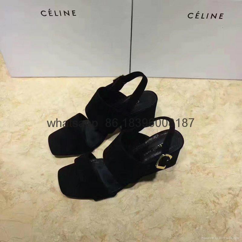 wholesale high heels sandal top quality  celine women shoes sneakers 10
