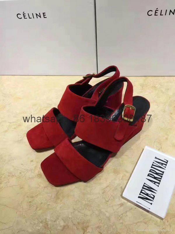 wholesale high heels sandal top quality  celine women shoes sneakers 14