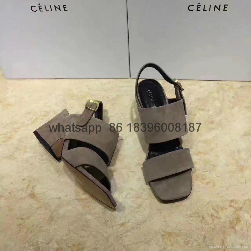wholesale high heels sandal top quality  celine women shoes sneakers 17