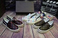 Wholesale original Louis Vuitton LV D&G  leather sheepskin running sports shoes (Hot Product - 1*)
