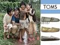 wholesale cheap top 1:1 quality  TOMS Lazy canvas Hollow men women's shoes