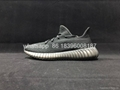 Adidas Yeezy 350V2 ALL Black Real Boost