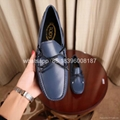 wholesale cheap BV Tod's Suded casual shoes Men leather Driving Classic  loafers