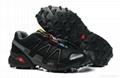 Wholesale 1:1 quality salomon SPEEDCROSS sport sneakers Hiking Boots men shoes