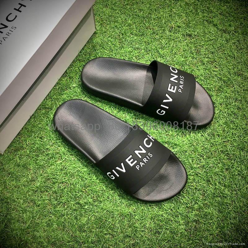 wholesale Givenchy Paris Sliders Slipper fashion slipper for man woman   2