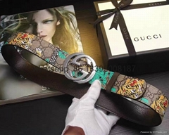 wholesale 1:1 original quality gucci supreme bee caleido snake leather belts  (Hot Product - 2*)
