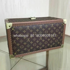 wholesale New Arrival Louis Vuitton  LV Lady Box Women Bags Wood iphone Case
