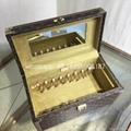 wholesale New Arrival Louis Vuitton  LV Lady Box Women Bags Wood iphone Case 2