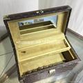 wholesale New Arrival Louis Vuitton  LV Lady Box Women Bags Wood iphone Case 3