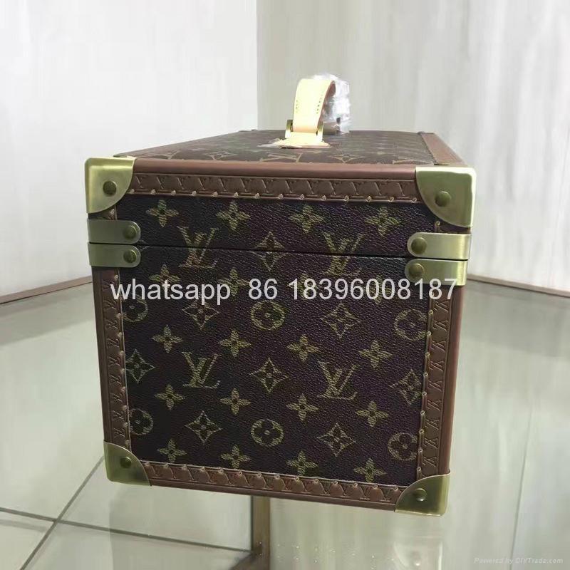 wholesale New Arrival Louis Vuitton  LV Lady Box Women Bags Wood iphone Case 5