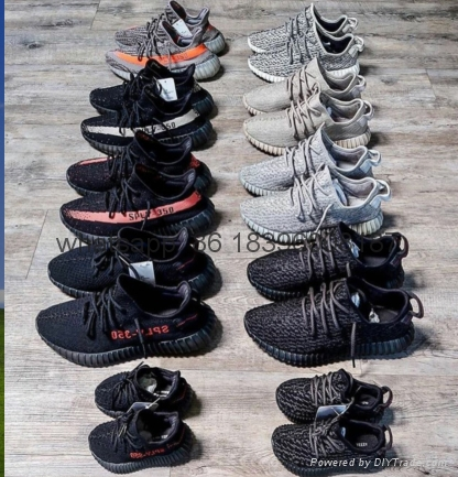 wholesale top 1:1quality adidas yeezy550 350v2 boost cheap sneaker running shoes 2