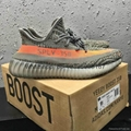 wholesale top 1:1quality adidas yeezy550 350v2 boost cheap sneaker running shoes 8