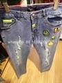 Wholesale top quality  Philipp Plein replica jeans pants sweatpants Men Trousers 3