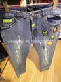 Wholesale top quality  Philipp Plein replica jeans pants sweatpants Men Trousers