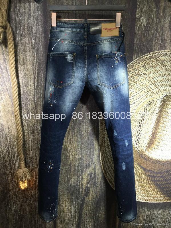 wholesale Newest Dsquared2 replica cheap DSQ2 men's Shorts jeans pants Trousers  7
