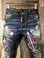 wholesale Newest Dsquared2 replica cheap DSQ2 men's Shorts jeans pants Trousers  8