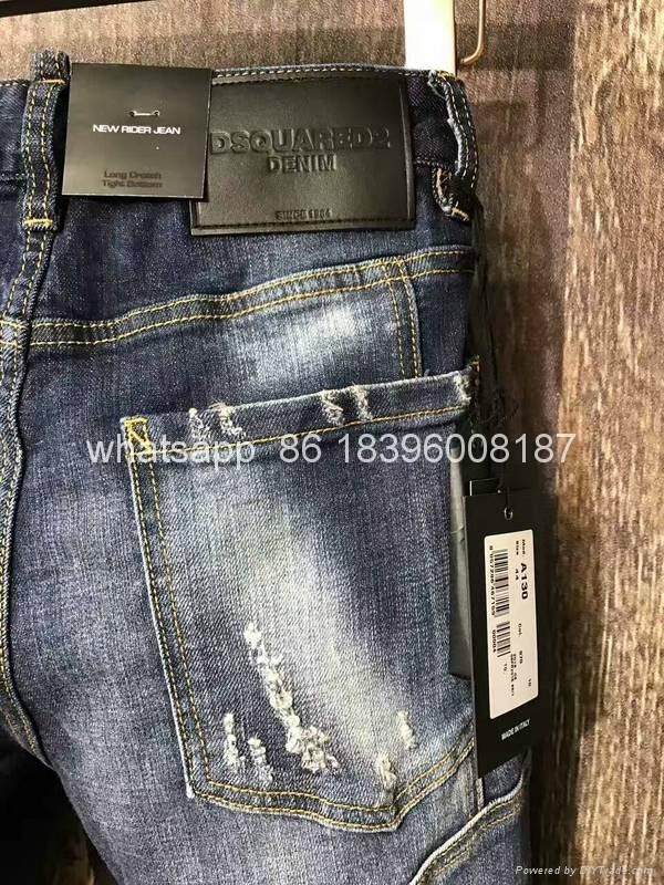 wholesale Newest Dsquared2 replica cheap DSQ2 men's Shorts jeans pants Trousers  9