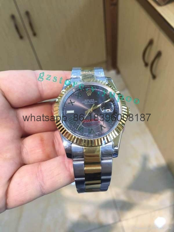 Wholesale top 1:1quality Rolex luxury Replica brand lv Automatic cheap watches 18