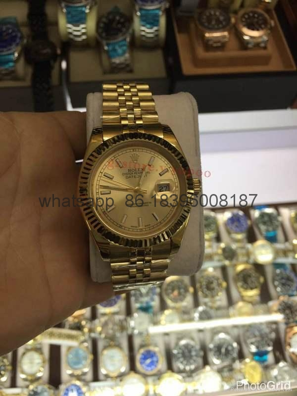 wholesale top quality Rolex automatic Cartier Longines watches fashion clocks 13