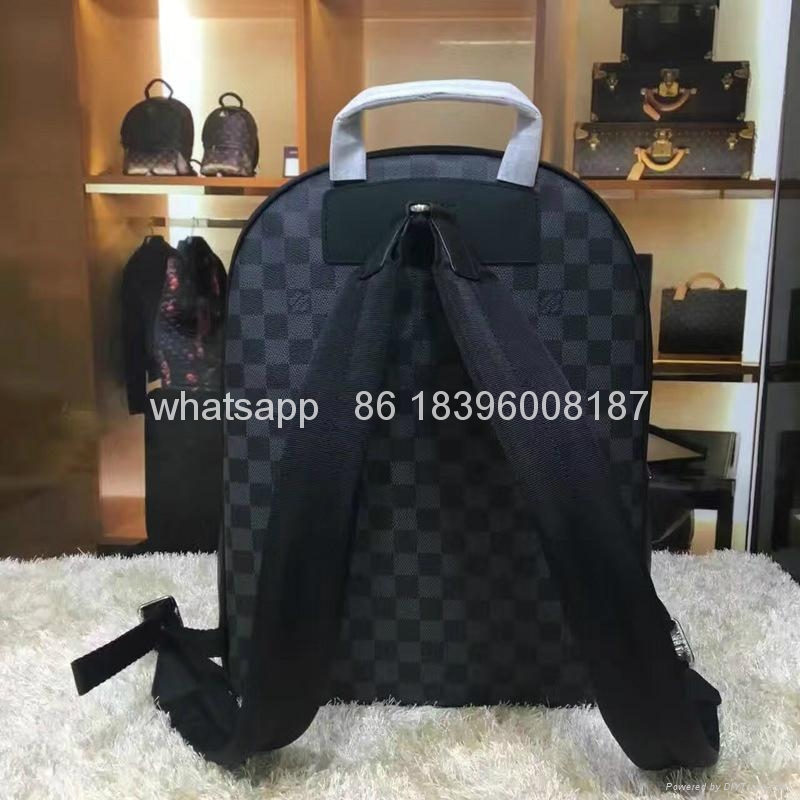Wholesale Louis Vuitton cheap high quality  Backpack replica LV Men Bag handbags 9